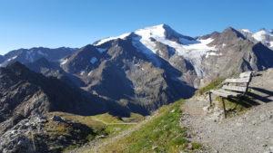 Romatika lavička s Wilder Freier (3426m)