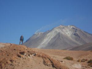Jeden z vulkánů