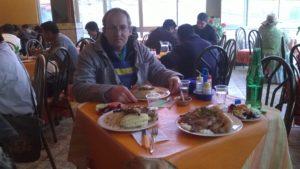 Oběd v reštauraci